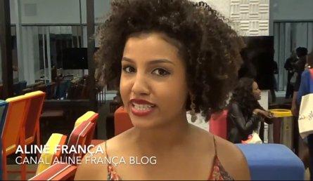 Aline França of the Aline França blog