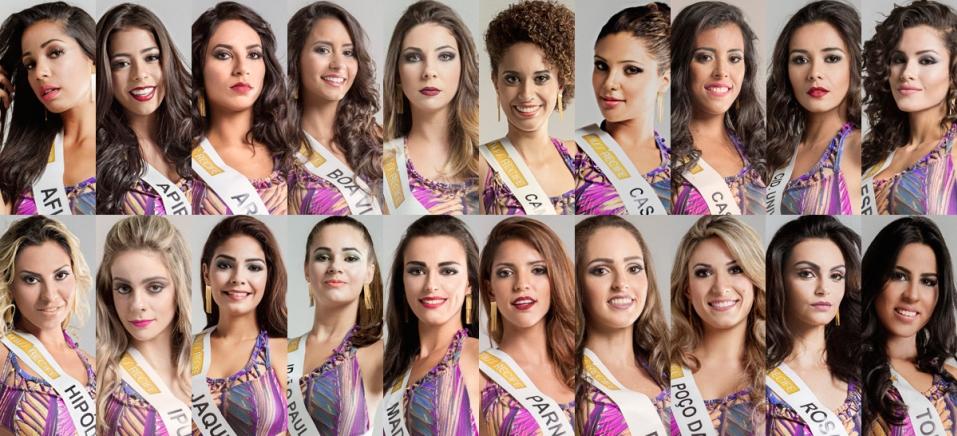 Conheça as candidatas que disputam o título de Miss Recife - 8 de 4, 2015