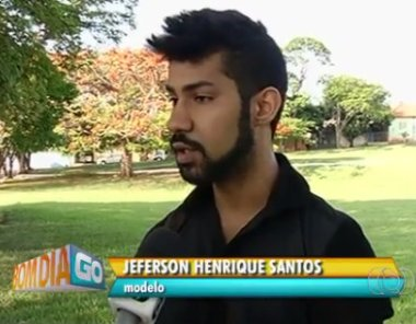 Model Jeferson Henrique Santos was also victimized by racist commentary