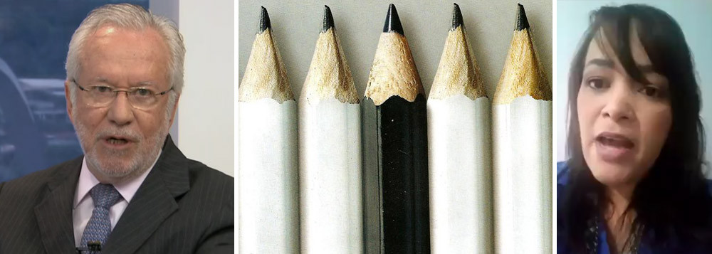 RACISMO NA GLOBO REVOLTA ALUNOS E PROFESSORES