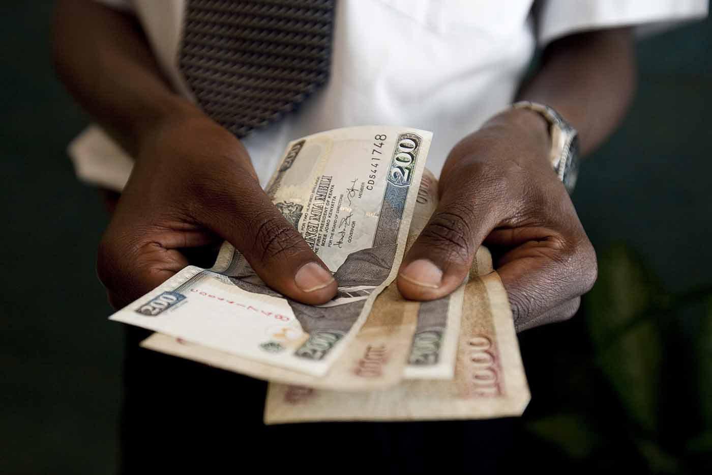 Traders At Nairobi Stock Exchange