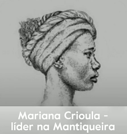 Mariana Crioula - leader in Mantiqueira