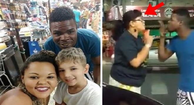 Casal negro é acusado de sequestro por estar com criança branca 3