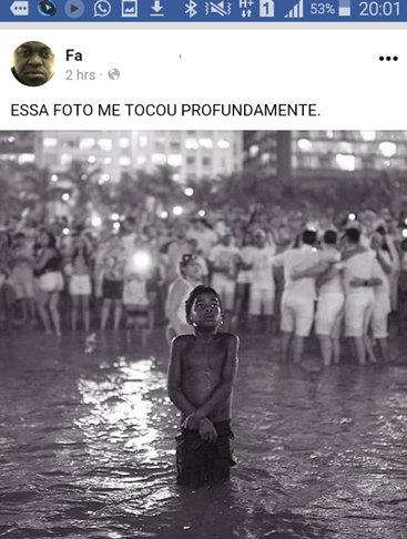 A foto do menino negro que fala de como vemos um menino negro (comment)