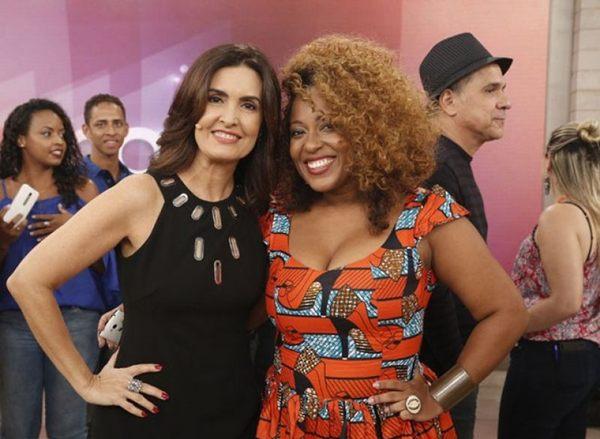 Fátima Bernardes e Maíra Azevedo