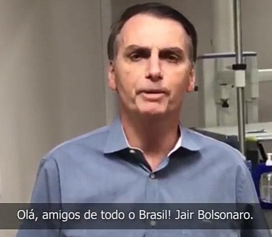 URGENTE Bolsonaro recebe alta e faz pronunciamento ao povo brasileiro - veja vídeo - BACH (CC)