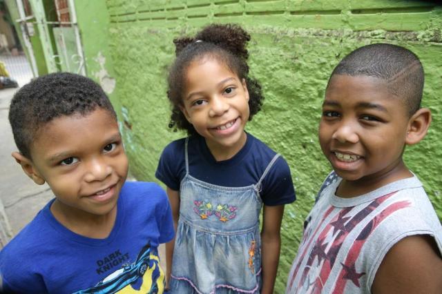 Vitor, Luísa e Igor