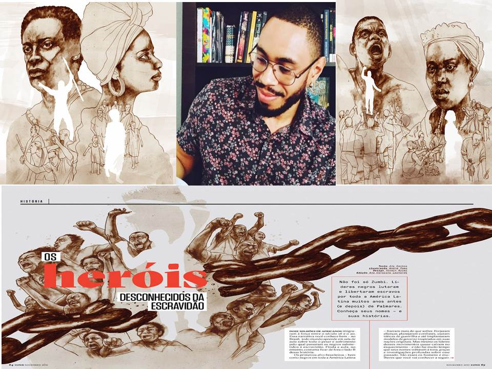 Writer Ale Santos Recovers Forgotten Passages of Black History