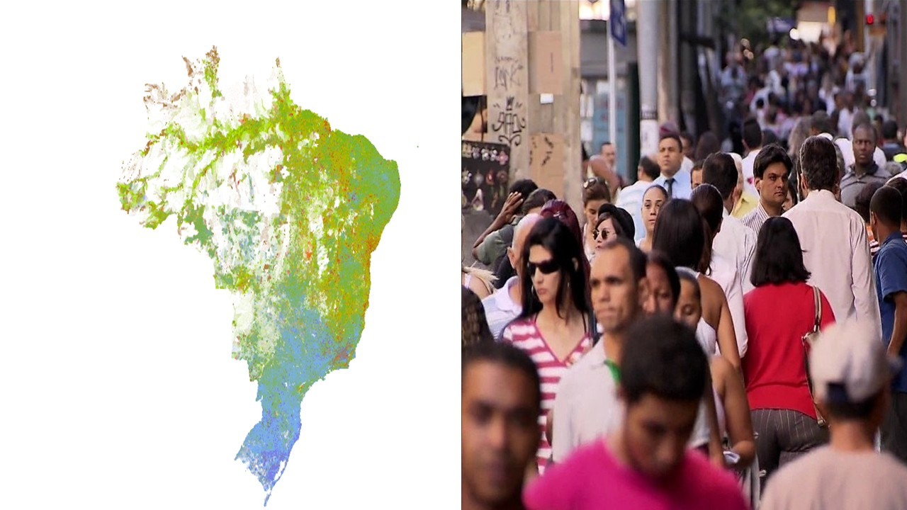 Interactive Map Shows Distribution of Ethnic Groups in Brazil
