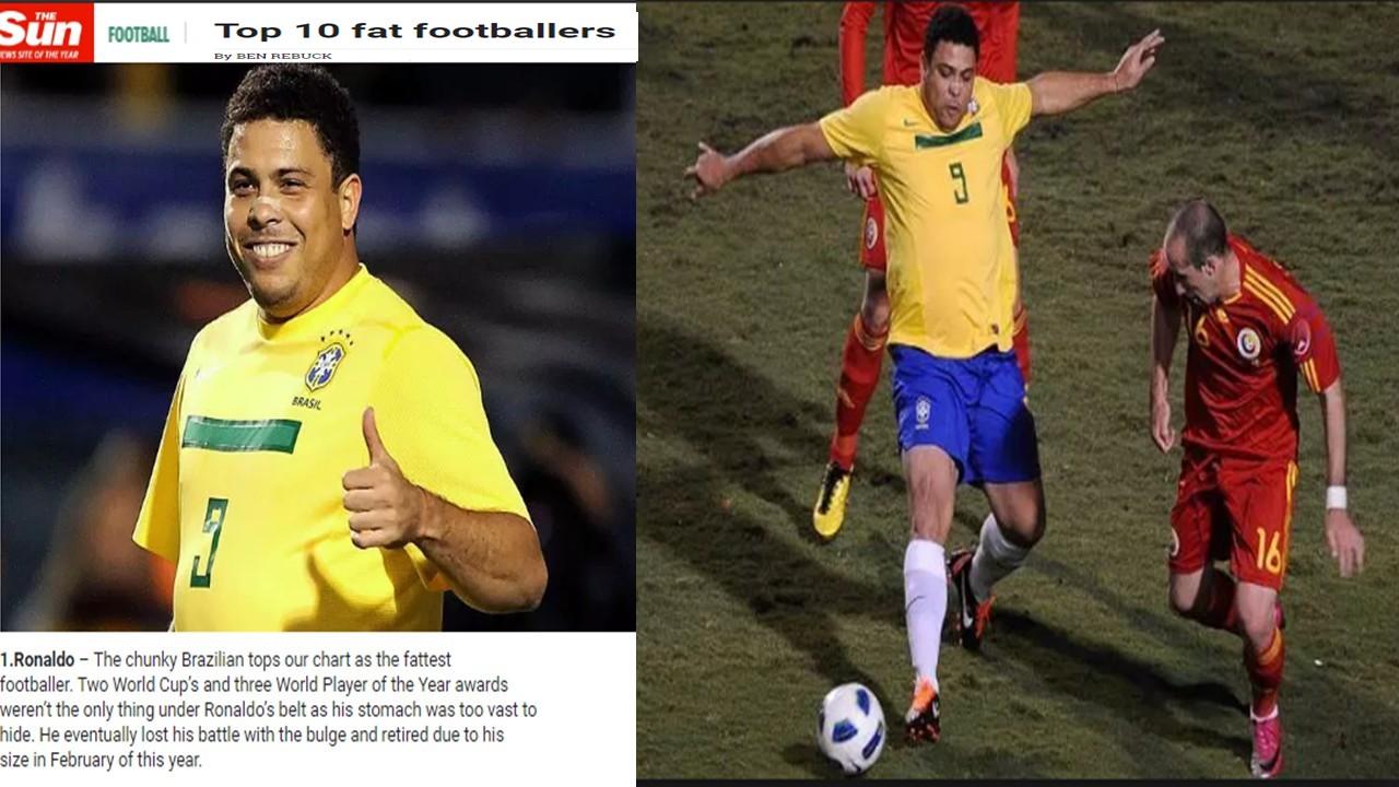 Does former futebol superstar Ronaldo still see himself as a white man?