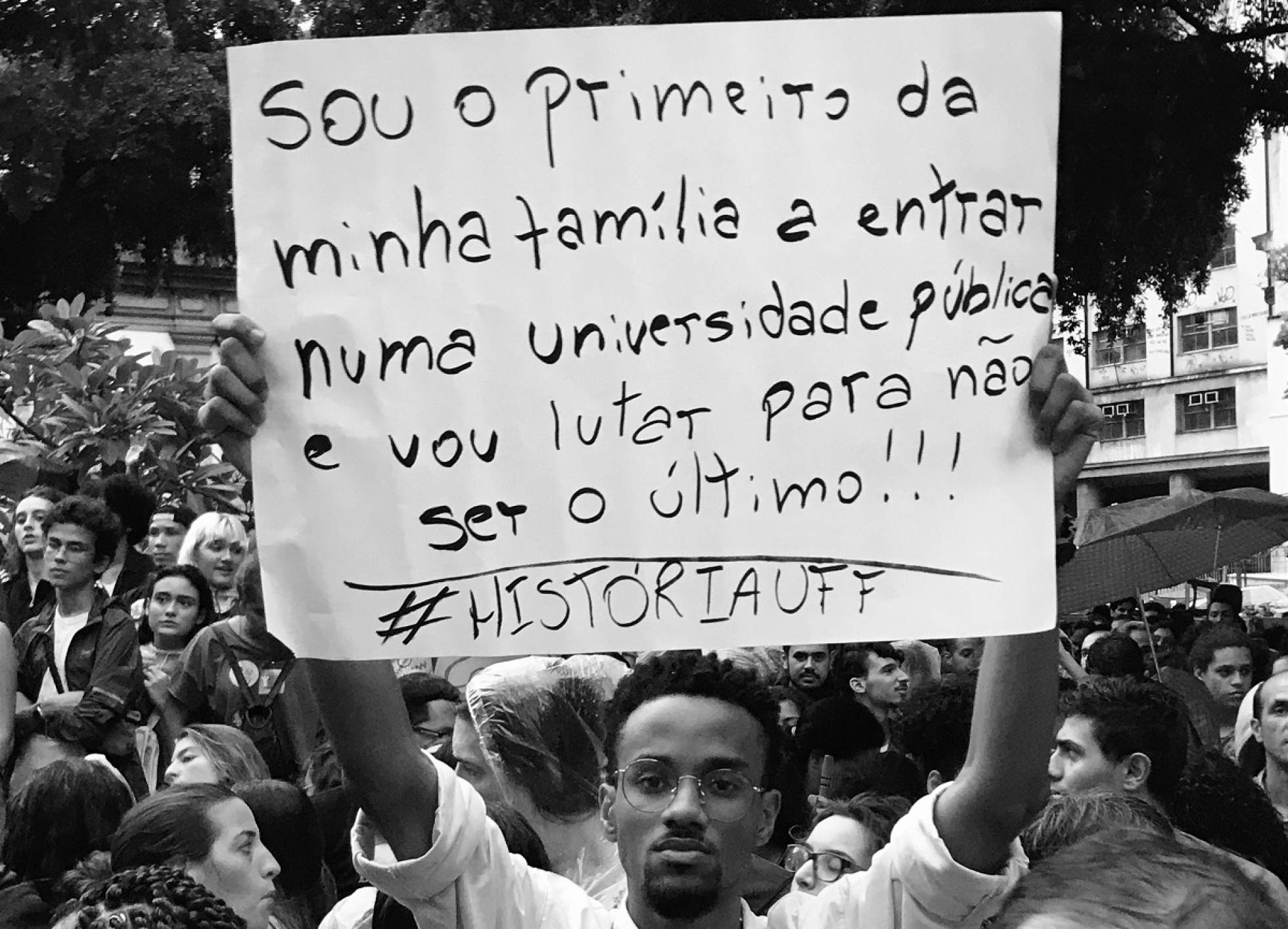 Why Brazilians are protesting President's Education Cuts | João's story