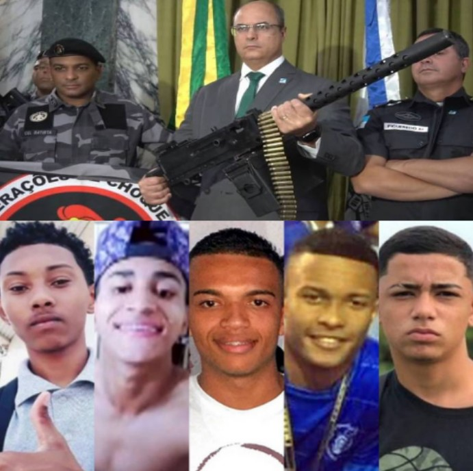 Violence in Rio kills 6 Youths: Under Wilson Witzel Government