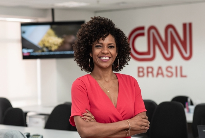 Respected journalist Luciana Barreto is CNN Brazil's first black Host