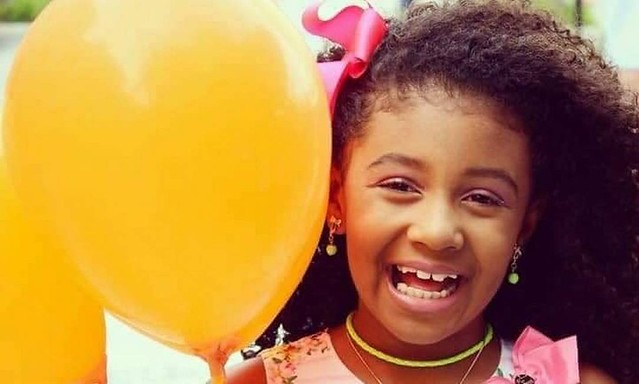 8 Year old Ágatha Félix was gunned down by Military Police fire