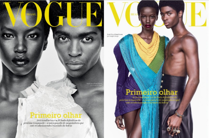 Vogue Brasil (The New Concept of Beauty: More Black Faces on Magazine Covers)