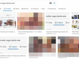 Black Woman Teaching | Google displays pornography on This phrase