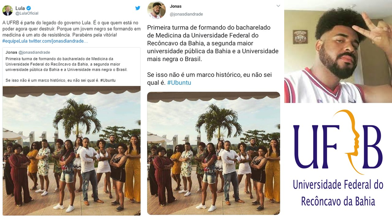 UFRB The Second Largest University in Black majority state of Bahia