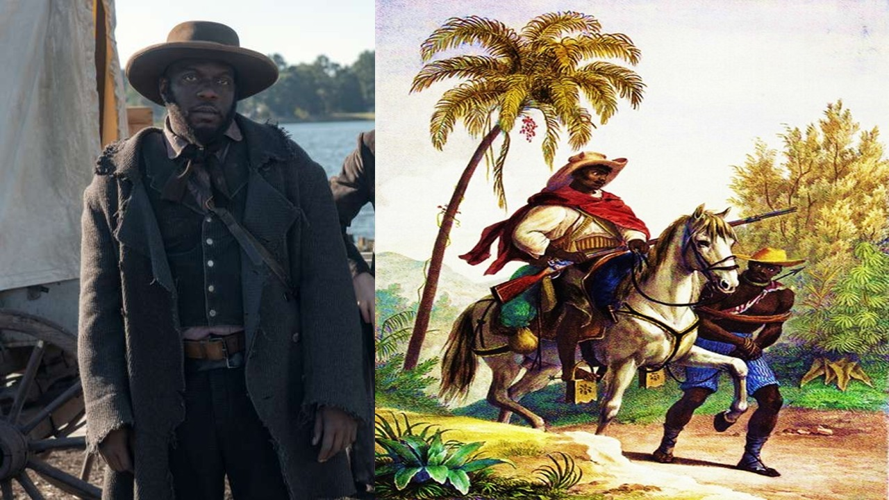 Slave hunters in Brazil like Bigger Long from the Movie 'Harriet'