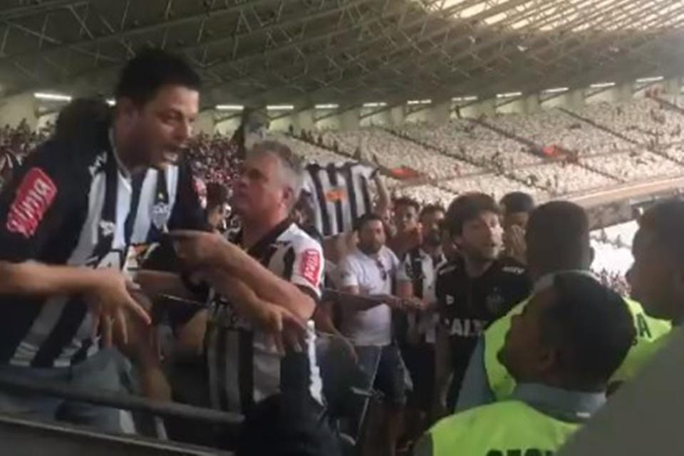 Natan Siqueira Silva negou ter chamado o segurança Fábio Coutinho de 'macaco'