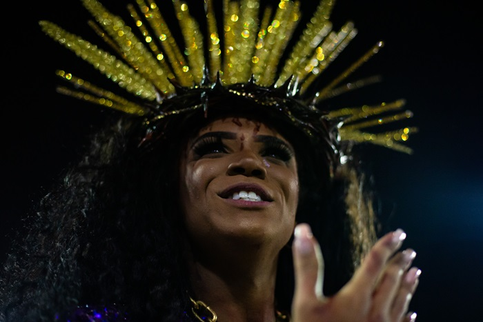 Rio Carnival 2020 - Day 1 (Depicting Jesus: Mary and Joseph as Black Men and Women)