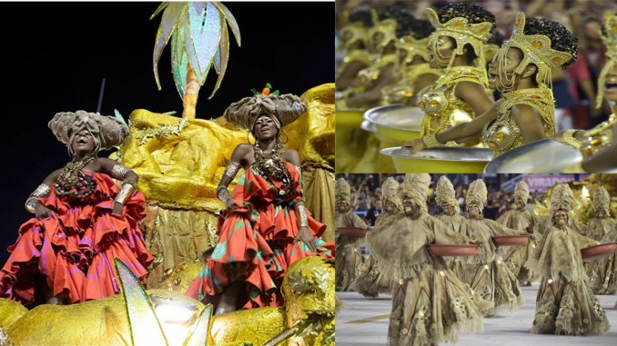 Viradouro wins Rios Carnaval: Group won with theme of Black Women