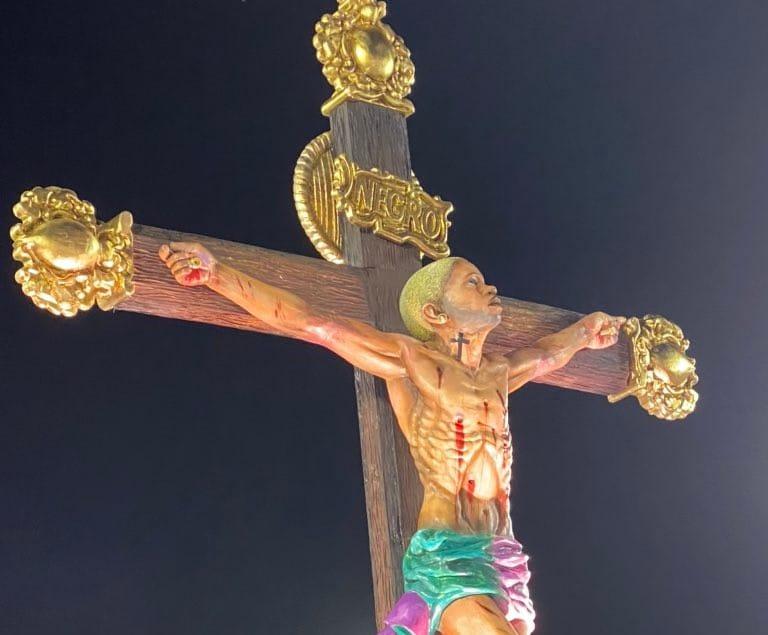 cristyo-negro-cruzificadi Depicting Jesus: Mary and Joseph as Black Men and Women