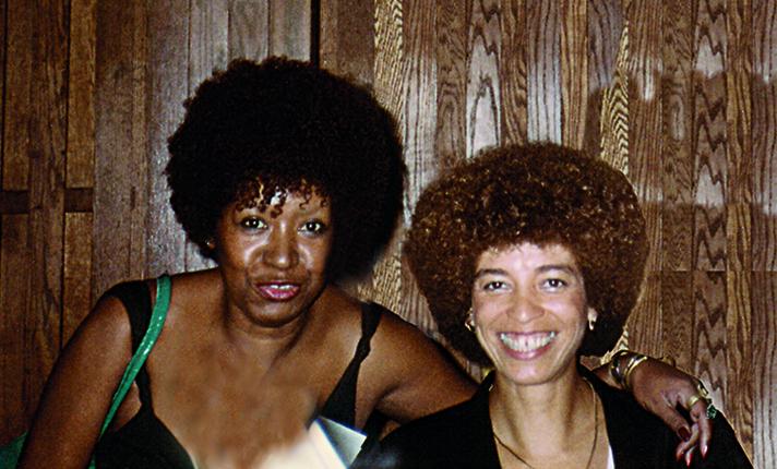 lelia gonzalez - Seminário 1985 & Beyond. Baltimore, Estados Unidos, com Angela Davies, 1984