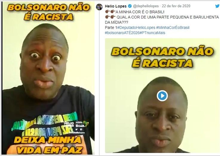 President Bolsonaro Says a Joke