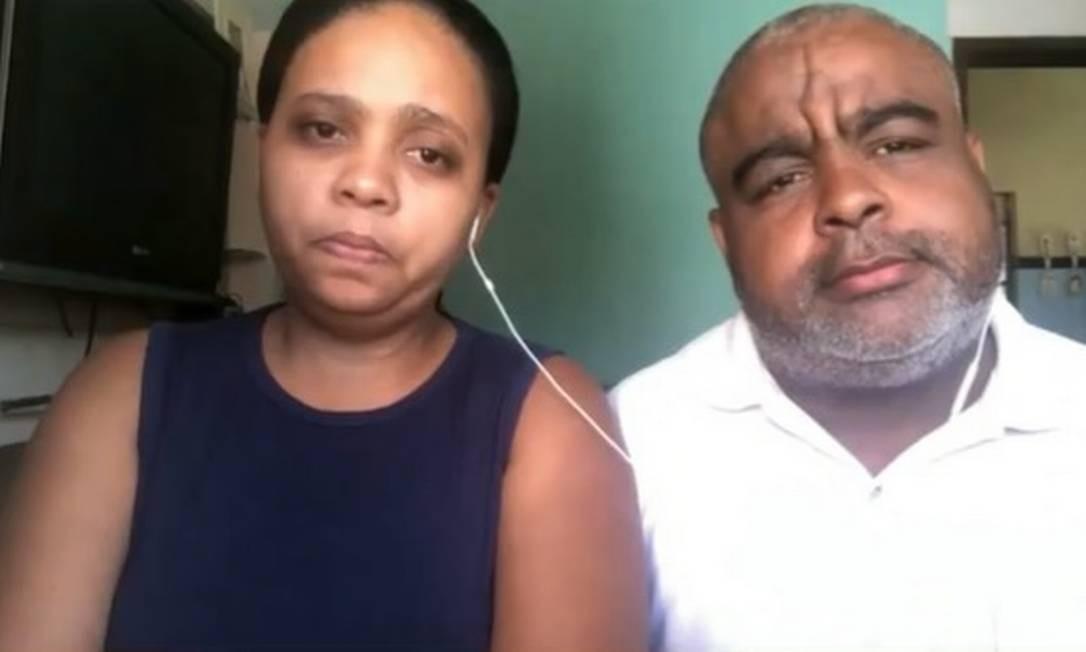 parents - Rafaela e Neilton Matos, pais de João Pedro