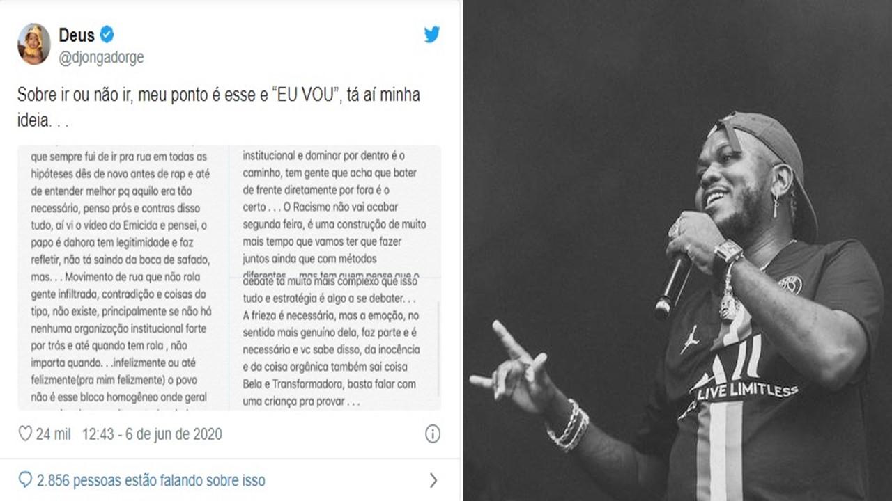 Djongo - Tweet - collage