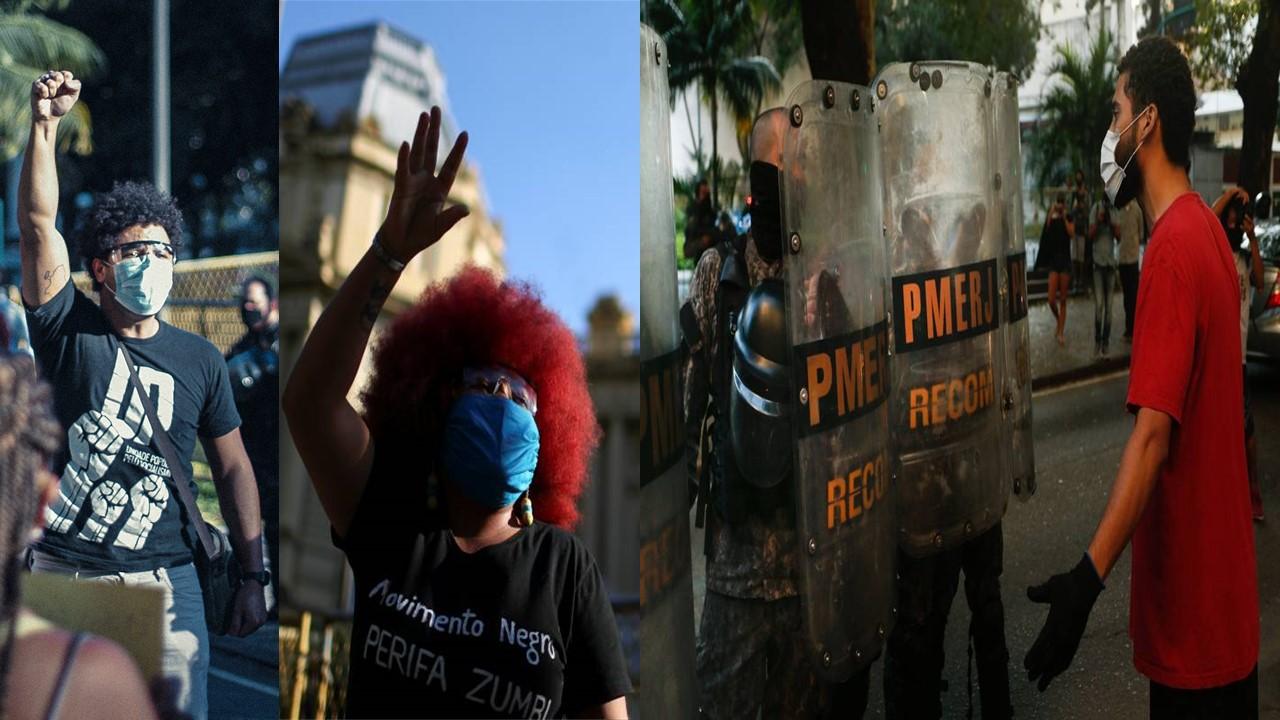 Vidas Negras Importam In Rio: Protest Against Police Violence