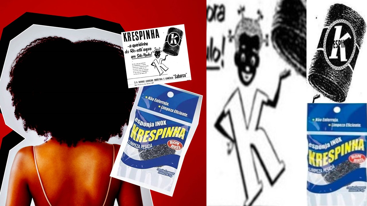 """Bombril scouring pad """"Krespinha"""" Stereotypes Associate Product"""