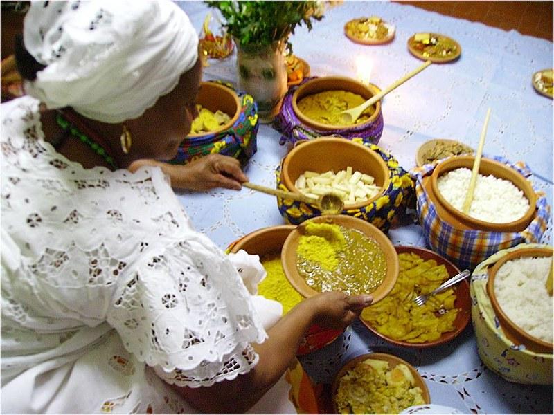 Candomblé - resistência, preservação e reconhecimento da culinária afro-brasileira