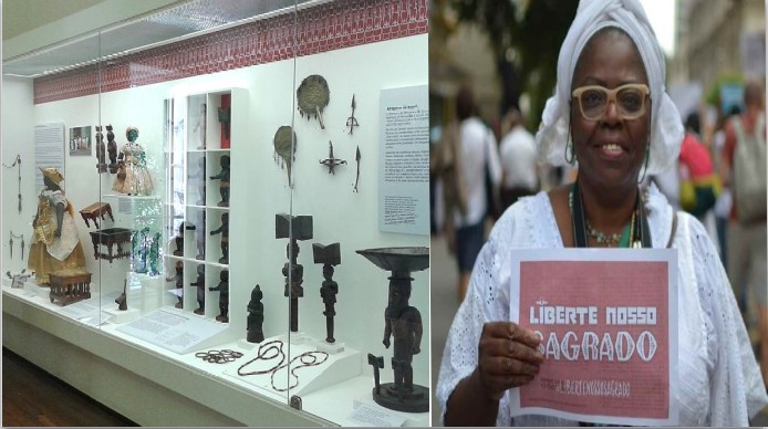 """""""Liberate Our Sacred Items"""": Civil Police begin returning sacred items"""