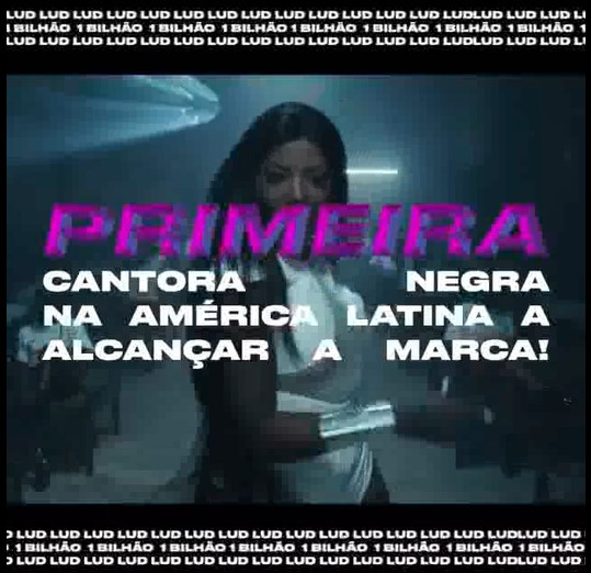 Singer Ludmilla: