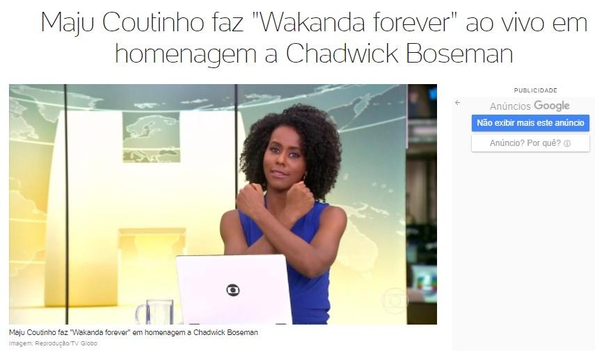 Afro-Brazilian Celebrities Pay Homage to Actor Chadwick Boseman