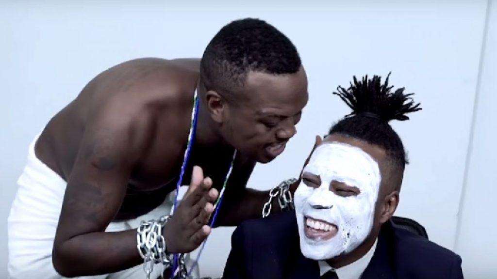 Rapper Djonga HAT - TRICK VIDEO SCENE