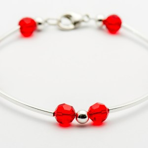 July Swarovski Crystal Bracelet