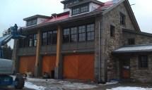 Horse Barns with Garage Doors