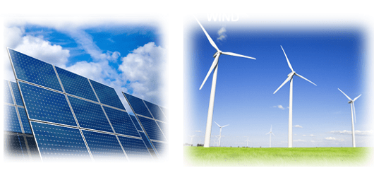 Samsung solar-wind projects