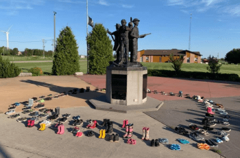 Kettle Point Memorial to honour children in Kamloops mass grave