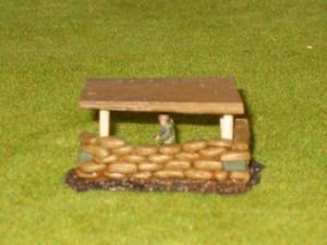 Plank Roof option for  40/20 Sandbag position