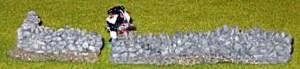 Rubble Wall length