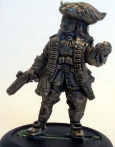 Pirate Queen with gun