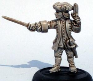 Royal Navy Leiutenant with pistol & sword 1