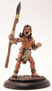 Tribal Warrior with a spear