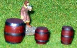 4x Small Barrels
