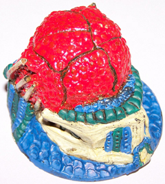1x Alien birthing chamber 60mm scenery piece.