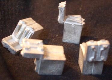 4x ammo boxes