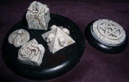 Sacrificial lambs on short stones